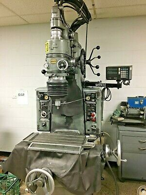 Moore No. 2 Jig Grinder Grinding Machine With 1 40k Grinding Head Sony Dro