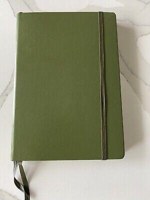 Leuchtturm 1917 Medium A5 Lined Hardcover Notebook Army Green