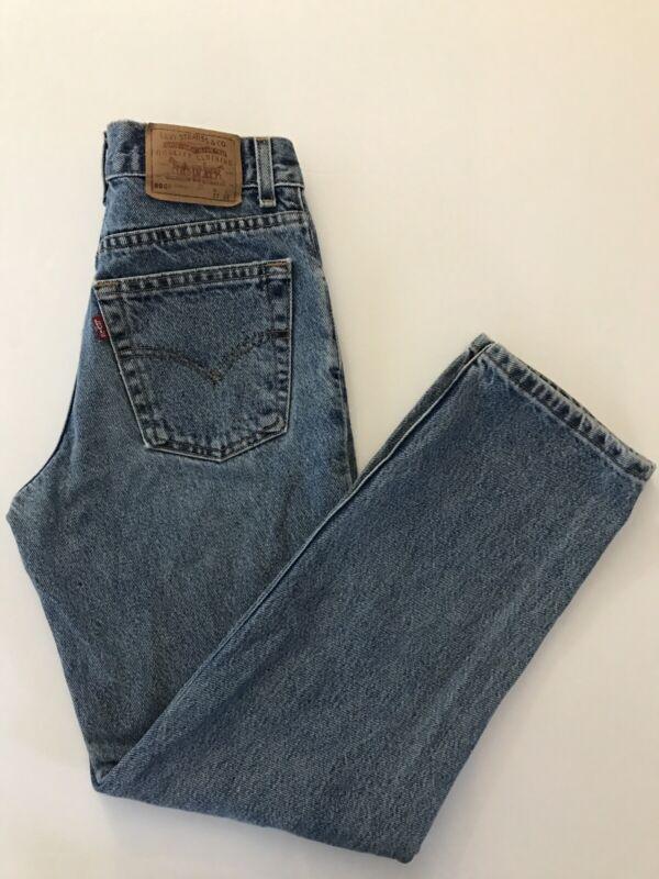 Rare Vintage TINY Levis 505 Student Fit Jeans 26x27.5