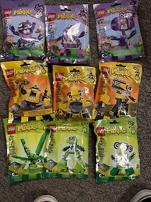 Lego Mixels Series 6 Complete Set of 9 Sealed Packs New