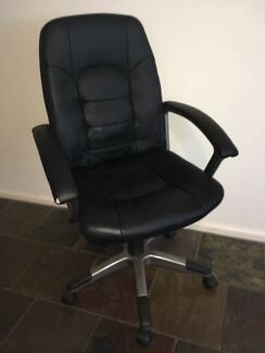 Euro style adjustable high backed office chair