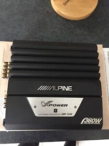Alpine V Power Car Amplifier : Model MRP-F240