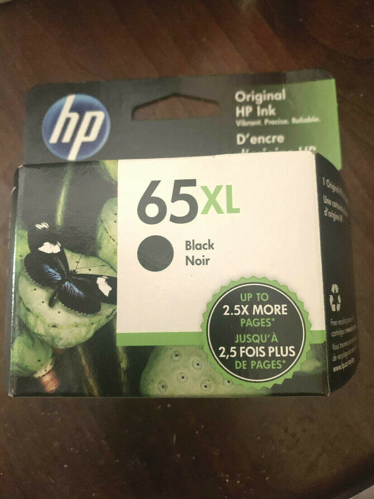 Hp - 65xl High-yield Ink Cartridge - Black