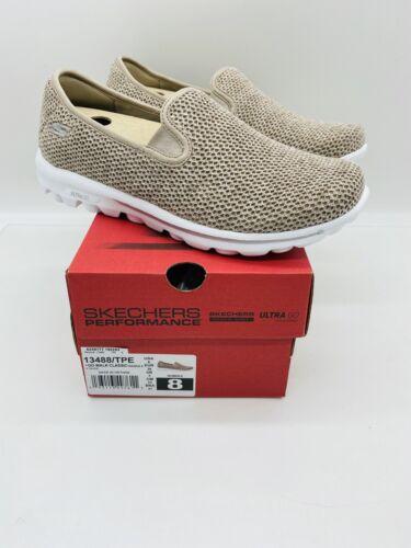 Skechers Go Walk Women Slip-On Mesh Shoes Sneakers - Dazzle