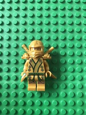 Lego Ninjago Gold Lloyd Ninja BRAND NEW GENUINE Minifigure !!!!!