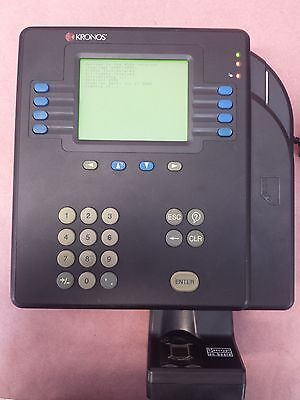 Kronos System 4500 Model 8602800-001 Touch Id Bio-metric Scanner 8602801-001