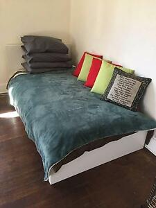 Single bed (frame, mattress and more) Footscray Maribyrnong Area Preview