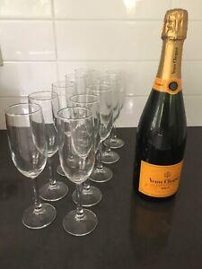 10 x Champagne Flutes