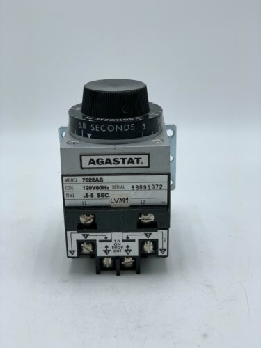 AGASTAT 7022AB Timing Relay