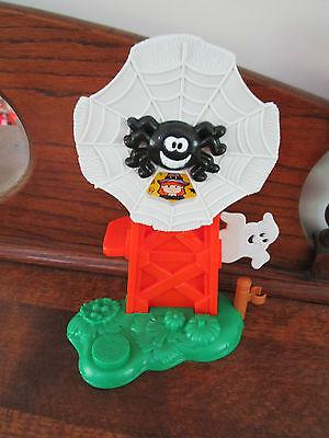 Fisher Price Little People PUMPKIN Party Farm Windmill Spider Ghost - Little People Halloween