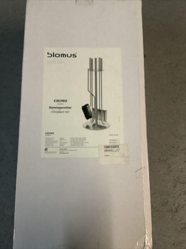 Blomus 65132 pure life Chimo Round Fireplace Set (S23)