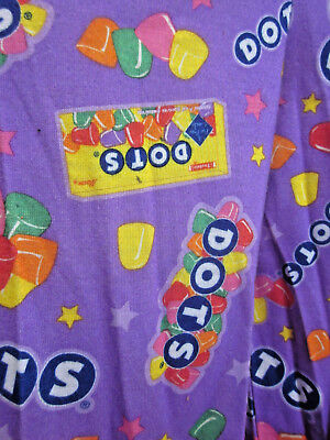 DOTS CANDY youth med pajama pants 7-8 loungewear Tootsie Roll colorful sleepwear (Tootsie Roll Colors)