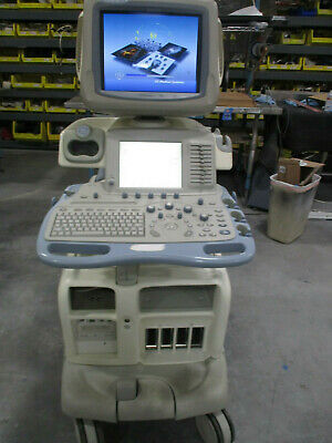 Ge Logiq 9 Ultrasound System Parts System - Powers On - Sold As Is - No Refund