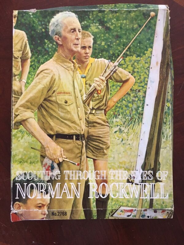 VINTAGE~SCOUTING THROUGH THE EYES of NORMAN ROCKWELL~Full set 44 - 11x14 PRINTS