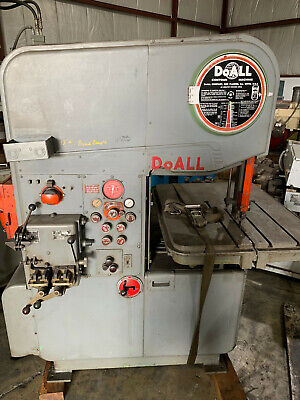 Doall Mp-20 Vertical Band Saw