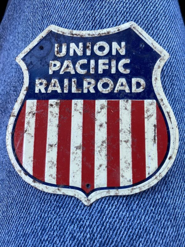 Vintage Railroad Tin Sign