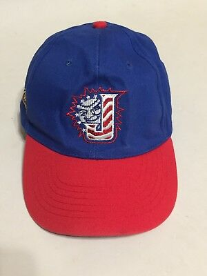 Vintage Jacksonville Suns Embroidered Hat Adjustable Blue Red - Stadium Giveaway
