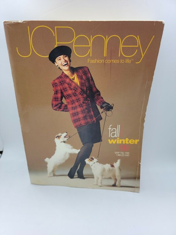 Vintage 1991 JCPenney Catalog Fall And Winter 1990's Retro Clothing Styles
