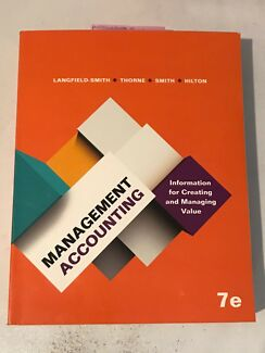 Management accounting 7th edition by langfield textbooks management accounting 7 e langfield smith textbook hardcopy fandeluxe Gallery