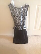 Queenspark lace ponte dress- black and white size 6 Albany Creek Brisbane North East Preview