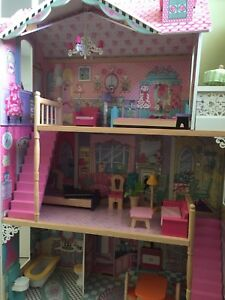 Annabelle KidKraft Doll House with Furniture