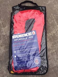 LIFE JACKET BURKE x2 adult manual inflatable 150N