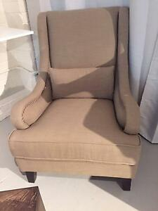 Brand New Timeless Highback Armchair - clearing excess stock Bondi Eastern Suburbs Preview