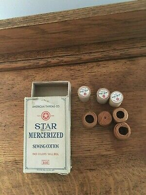 Vintage Mercerized Cotton Thread