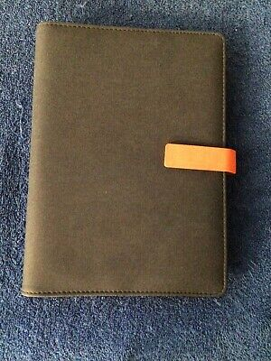 Wcr A5 Executive Personal Organizer Ruled Notebook-loose Leafrefillablecard..