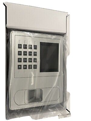 Fingerprint Attendance Machine Time Clock Employee Checking-in Reader Dc 5v Z9w1