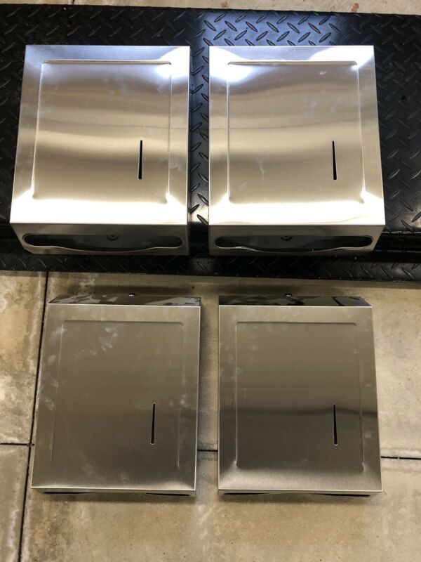 Stainless Steel Multifold Towel Dispenser