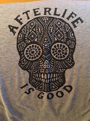 Life Is Good Halloween Shirt (Life Is Good Halloween XXL Shirt Afterlife Is Good Day Of The Dead LS NWT)