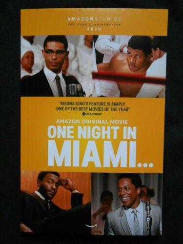ONE NIGHT IN MIAMI FYC PROMO SCRIPT SCREENPLAY BOOKLET