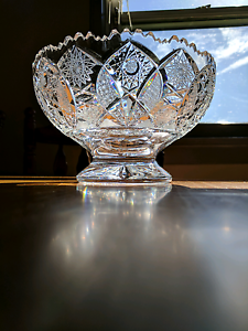 Bohemian Crystal (Table Bowl) Mount Pritchard Fairfield Area Preview