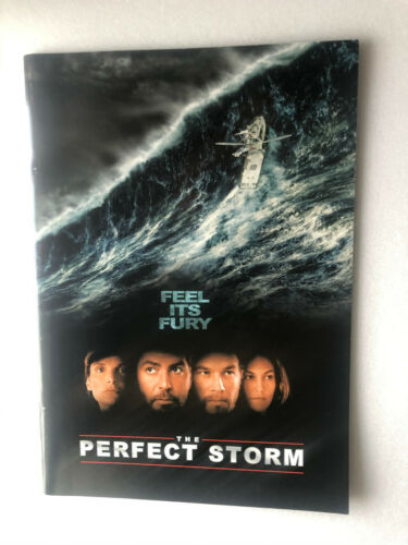 "George Clooney, Diane Lane ""The Perfect Storm"" Japan movie souvenir program"