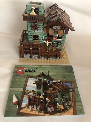 LEGO 21310 IDEAS Old Fishing Store  Almost complete w/ Manual