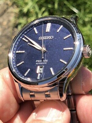 Seiko Presage Blue dial Automatic SRPD41J1 With Box, Nearly new