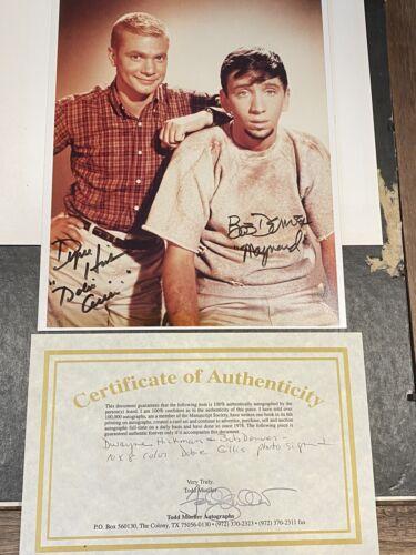 Dobie Gillis Signed With Dwayne Hickman Bob Denver Certificate Of Authenticity - $60.00