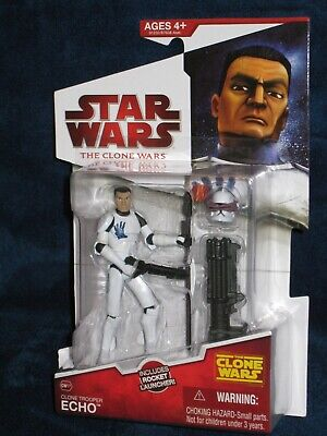 Star Wars 2009 The Clone Wars Clone Trooper Echo CW17