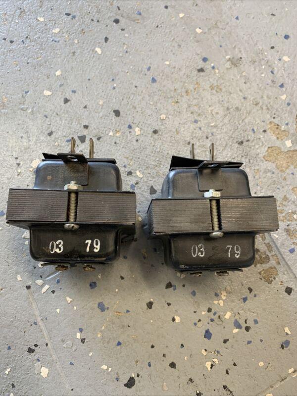 AMSECO XF12-20F Plug-in Class 2 Transformer 120V primary 12V secondary, set of 2