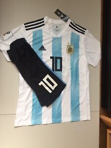 Messi Argentina #10 jersey+short 2018