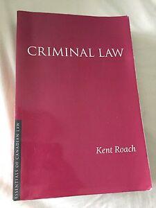 Criminal Law, Kent Roach