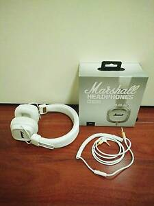 Marshall Major II White Headphones Macquarie Fields Campbelltown Area Preview