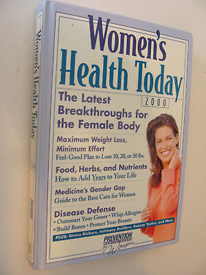 Womens Health Today 2000 Prevention Books Weight Loss  Disease Defense  Foods