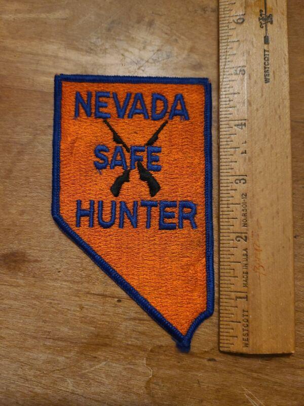 Nevada Safe Hunter Patch