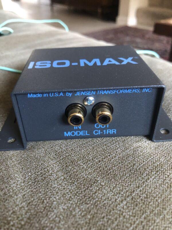 ISO-MAX CI-1RR Jensen Transformer