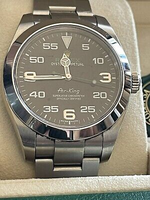 Rolex Air King 116900 2018 Used Wristwatch With Box And Papers