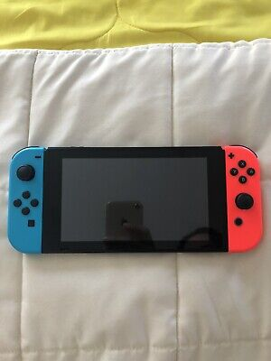 Nintendo SwitchConsole Neon Blue and Neon Red Joy‑Con
