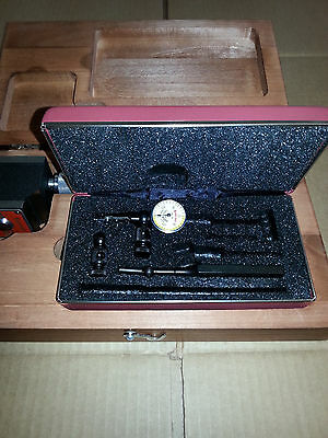 657bz Magnetic Base 711fsaz Indicator With Body Clamp In Wood Case Starrett