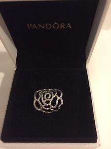 Pandora shimmering rose statement ring Caversham Swan Area Preview